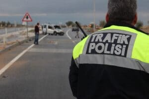 Kaza Trafik Polisi