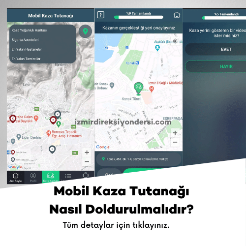 mobil kaza tutanağı nasıl doldurulmalıdır?